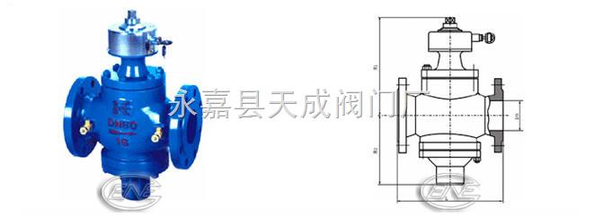 zl47f自力式流量平衡阀