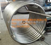 钛盘管钛单层双层盘管U型钛蛇形